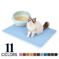 Cat Beds & Furniture Color Waterproof Double Layer Non-slip Clean Washable Pet Litter Mat Accessories Cats Bed House Pads