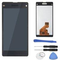 Orijinal Sony Z1 L39H Ekran Panelleri LCD Dokunmatik Ekran Değiştirme Sayısallaştırıcı Meclisi Süper Kalite Testi Kesinlikle