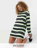 striped limited British dress time collection