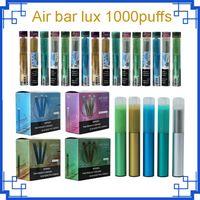 Air Bar Airbar Lux одноразовый Vape Pen 1000Уфуфты 500 мАч Батарея 2.7ML POD PAPOR Пустое устройство Портативный Vavorizer Cigarette Kits Air Bar Max