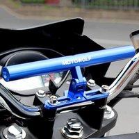 Handlebars MOTOWOLF Motorcycle Mounting Bracket Light Expansion Phone Holder Handlebar Mount