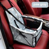 كلب حامل سيارة حامل سيارة حقيبة سلة للماء قابلة للطي أرجوحة حاملات للكلاب القط الصغيرة السلامة السفر شبكة يغطي