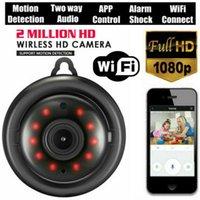 Mini Kablosuz WiFi IP Kamera HD 1080 P Akıllı Aile Güvenliği Gece Görüş Kamera Etkinlik Uyarıları Kameralar Ev / Kediler / Evcil / Bulut