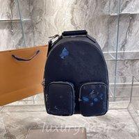 Uomo Zaino Ultimo sacchetto tascabile 2021 Backpacks di moda Computer Computer Luxurys Designer Donne Donne di alta qualità Classic Borsellino in pelle Cool Boy