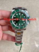 N 2021 Orologi da uomo di alta qualità V12 Green Luxury Watch Ne.w 3135 Super Automatico Movimento meccanico 904L Cassa in acciaio Case watchband Sub Ultimate Versione 200m