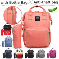 Anti-theft bag Mommy Backpacks Nappies Diaper Bags Large Capacity Waterproof Maternity Backpack Mother Handbags Nursing Travel Bags RRA7490
