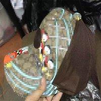 تصميم النمر الحيوان قبعة مطرزة الأفعى الرجال العلامة التجارية الرجال والنساء قبعة بيسبول قابل للتعديل جولف الرياضة 2888 SS كاب
