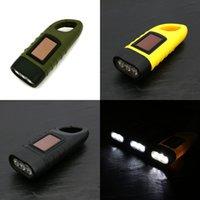 Mini Main d'urgence Dynamo Dynamo Paille de poche à lampe de poche à lampe à lampe à LED rechargeable à LED puissant torche R Camping extérieur DHL 480 x2