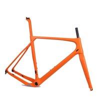 دراجة إطارات الحصى إطار دراجة كربون كامل 142 * 12 حجم S / M / L / XL
