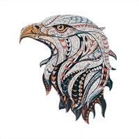 Banlv Бесплатный счастливый орлан головоломки нерегулярной формы головоломки творческие головоломки животных орел образовательные игрушки подарки для мужчин и женщин 3D