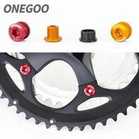 Tools ONEGOO 5 Pack Bicycle Chainwheel Screws Bike Chains Wheel Bolts MTB Road Crankset Parts Repair