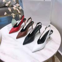 2021 Womens Ballet Shoes Designer Luxury High Heels Round Toe Platform Sandals Flat Leather Dress Shoe Boots 35-42