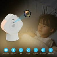 Mini Cameras 2 In 1 Camera Smart Home Film With Night Light Action 1080p Vision Sensor DV DVR Video Recorder