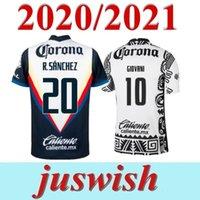 20 21 تايلاند شيفاس لكرة القدم جيرسي Pachuca 2020 2021 Liga MX شيفاس سانتوس لاجونا الصفحة الرئيسية كرة القدم قميص رجل Camiseta de Futbol
