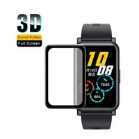 3D Curved Full Edge HD Clear Smart Montre Smart Montre Soft TPU protecteur pour Huawei Watch Fit / Huawei Honorer ES