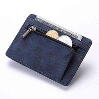 Portafogli del titolare della carta di credito di cuoio di cuoio dell'unità dell'unione di PU