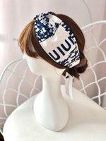 2020 مصمم 100٪ الحرير الصليب عقال النساء فتاة مرونة العصابات الشعر الرجعية العمامة رئيس هدايا د حرف رباطات