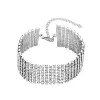 디자이너 귀걸이 약혼 반지, 팔찌 및 골드 목걸이는 여성의 즐겨 찾기 매력 팔찌 크리 에이 티브 합금 클로 체인 전체 다이아몬드 인기있는 jewelrysf