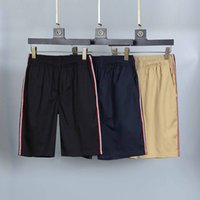 2021 Monclair shorts para hombre pantalones cortos de lujo deporte de lujo verano de moda de moda de moda de moda de algodón puro transpirable ropa corta