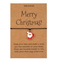 Christmas Bracelet Charm Bangle with Kraft Card 211864