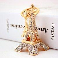 키 체인 에펠 탑 키 반지, 아름다운, 창조, 패션 액세서리, 여자 친구 선물