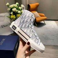 Classics Quality Hommes Femmes Designer Chaussures Espadrilles Sneakers Impression Marche Sneaker Backer Toile High Top Plateforme Chaussure 15