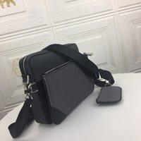 Homens Luxurys Designers Sacos Homens Três Peça Satchel 5320 Messenger Pequeno Postman Bag Slanting Adequado para a escolha da moda da vida diária
