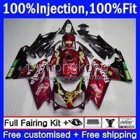 Injectie Bodys voor Aprilia RSV 125 RS 125 RR 125RR RSV-125 RS-125 RS4 12-16 12NO.48 Wijn Red BLK RSV125 RS125 R 12 13 14 15 16 RSV125RR 2012 2013 2014 2015 2016 OEM FACKING