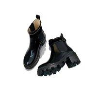 Bayan Motosiklet Ayak Bileği Fermuar Futbol Çizmeler Batı Ayakkabı Knight Martin Çöl Boot PU Gerçek Leatherl Bayanlar Kış Moda Patik Elbise Düğün Parti Boyutu 35-40