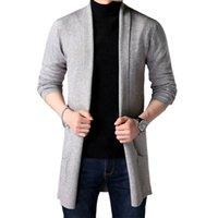 Favocent Sweaters pour hommes Automne Casual Solide Solide Cardigan Cardigan Cardigan Homme Pull Slim Amenté Vêtements chauds 211018