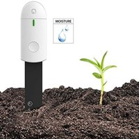 Equipamentos molhando Inteligente Solo Higrômetro Potenciômetro de Flores Relva Digital Sensor Cuidado de Cuidados de Água Detector de Plantas