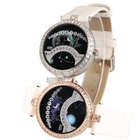 watches Designer watch Brand table Korean personalized constellation belt lover bridge led electronic watch sky star Rhinestone fashi