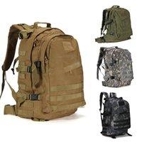 Backpack 55L 3D Outdoor Sport Military Tactical Backpacks Climbing Camping Hiking Trekking Rucksack Travel Bag