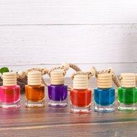 Araba parfüm şişesi kolye parfüm süsleme hava spreyi uçucu yağlar difüzör parfüm boş cam şişe 326 S2