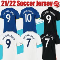 TORFEES # 19 JAMES HOME Blue Soccer Technys 21/22 # 9 Calvert-Lewin Mount Build Black футболка 2021/2022 # 10 Sigurdsson # 7 Ричарлисон 3-й белый Футбольная форма