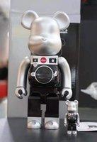جديد 400٪ 28 سنتيمتر Bearbrick Leica Building Bead، ABS المواد، جامع لعبة الرقمية be @ rbrick الفن عمل نموذج الديكور اللعب gif