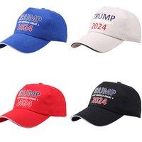 Trump 2024 Make American Great Ball Hat Unisexe Designers Casquettes de baseball Snapbacks Mag Maga Anti Biden Sport Plage Visière Headwear G333SKZ