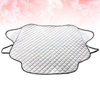 자동차 차양 다목적 앞 유리 덮개 안티 스노우 서리 먼지 방패 태양 화면 보호기 (147x116cm)