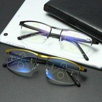 Немецкий интеллектуальный цвет Progressive Auto Focus Очки для чтения Concept Подробнее Женщины Мужчины JL Солнцезащитные очки