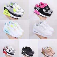 2021 Dzieci Athletic Sho Presto 90 III Dzieci Buty do biegania Czarny Biały Baby Sneaker Girls Chłopcy Kosze Enfants 24-35