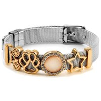 Bangle Colorful Stainless Steel Mesh Watch Belt Bracelets For Women Men Couple Original Charm Chain Bracelet Bangles Gift