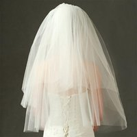 Bridal Veils Tulle Wedding Dress Fluffy Mesh White Multi Layer Hair Veil Comb Bride Fairy Marriage Accessory