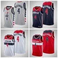 HombresWashingtonWizards Russell Westbrook Jerseys Basketball Jersey; Los jugadores columpiosos se cosen y los camisetas de baloncesto bordado.