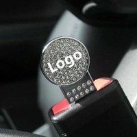 Carro logotipo segurança fivela extensão extensão clasp insira plug clip cints acessórios