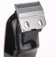최고 판매자 8148 마술 클립 금속 헤어 클리퍼 전기 면도기 남성 스틸 헤드 면도기 머리 트리머 블랙 골드 레드 2 색 전품