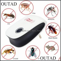 Control Household Sundries Home & Gardeneu Us Plug Electronic Cat Trasonic Anti Mosquito Insect Controler Mouse Cockroach Pest Repeller Enha