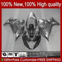 Corps pour Suzuki gris Katana GSXF 650 GSXF650 GSX650F Bodyworks 18HC.137 GSX-650F 2008 2009 2010 2011 2012 2013 2014 GSX 650F GSXF-650 08 09 10 11 12 13 14 Catériel