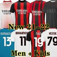 AC Milan 20 21 Ибрагимович Главная Футбол Джерси Вратарь GK 2020 2021 Выезд Третья Футбольная Рубашка Взрослые Мужчины + Детский Комплект
