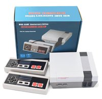 Nostalgic host Mini TV 620 500 Game Console Video Handheld for NES games consoles with retail boxs
