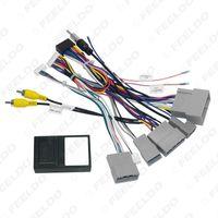 Harnais de câblage audio de voiture 16pin avec boîte de canbus pour HONDA CRV 2.4L Installation stéréo Adaptateur de fil # 6827
